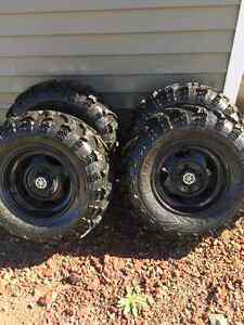 """2014 Grizzly Rims and 26"""" Tires"""