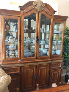 China Cabinet-Real Wood-Mint Condition