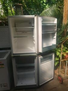 fridge freezer and deep freeze freezer combo