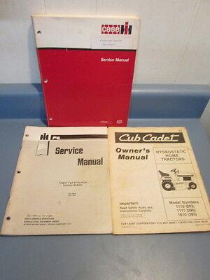 Case Ih International Harvester Manual Lot Electrical Systems Cub Cadet Kohler