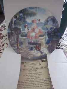4 Plates (Mother Goose collection)