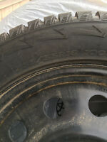 235/55R18 very lightly used winter tires and rims