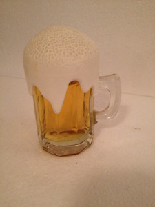 Avon Beer Glass Collectible bottle