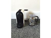 Nesspreso - Krups coffee machine + aeroccino