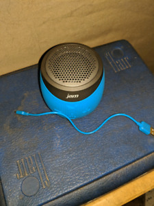 Jam portable Bluetooth speaker and charger.