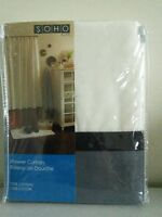 Soho Bath Shower Curtain Brand New $10
