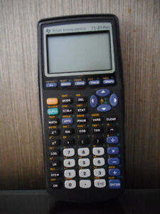 Calculator Texas Instruments TI-83 plus