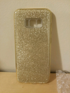 Gold Glittery Samsung Galaxy S8 Plus Case