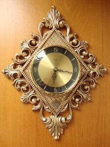 Mid-Century Modern Diehl Electro Wall Clock