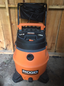 ShopVac - Used Twice - 16 Gal Shop Vac with Cart