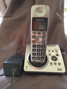 Panasonic Cordless Phone Model KX-TG1031C