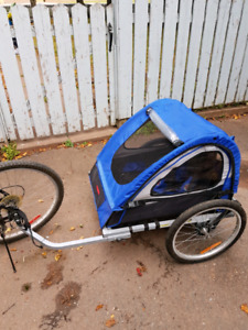 Schwinn 2-seater bike trailer.