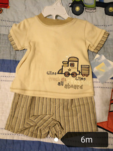 BNWT 6m summer baby outfits