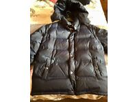Quilted winter jacket blue XL