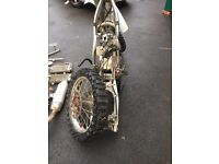 Crf 450 frame and spares