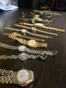 LADIES WATCHES AND BRACELETS OVERSTOCK