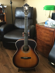 Hand Crafted Acoustic/Electric Guitar