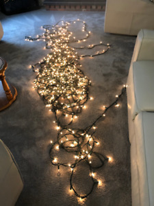 10- 18 foot long  String 0f  Clear Lights