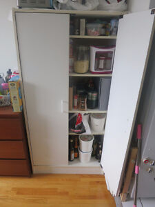 MOVING SALE (prices reduced) - dressers, a/c, desk, tv, wardrobe