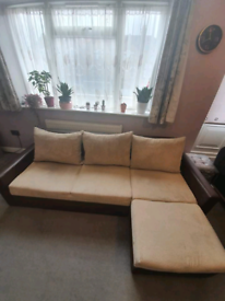 Corner sofa bed with storage local delivery available