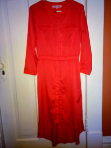 High Low Choral Pink Dress