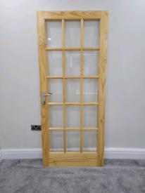 Internal panel door