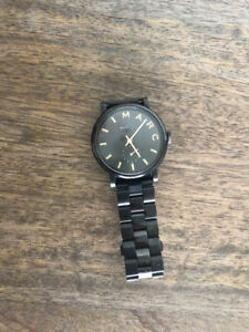 Marc Jacobs Black & Gold Watch (Womens)