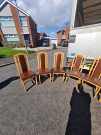 6 dining room chairs £99