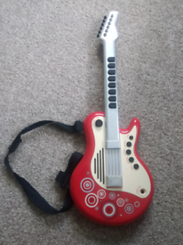Electric play guitar from Early Learning Centre