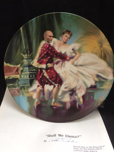 Knowles - THE KING AND I Collectible Plates