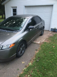 2008 Honda Civic 5 speed