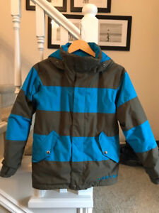 Boys burton ski/snowboard jacket, used for 1 season.  $60.00