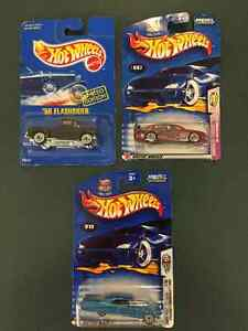 Hot wheels - various - $5 EACH, all unopened