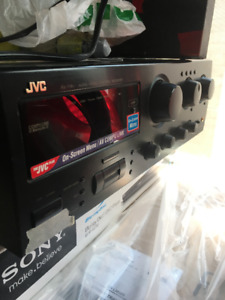 High quality JVC STEREO AMP - good for A/V applications