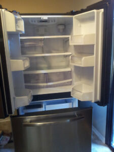 Beautiful 2 year old stainless steel fridge. Perfect condition