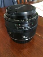 Lentille Canon EF 50mm f/1.8 Mark I