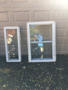 Vinyl Picture Window and Single Hung Window