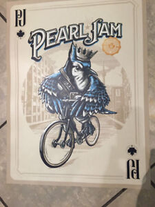 3 Pearl Jam Toronto Posters for sale