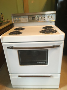 "NEW PRICE. FOR 30 "" White kenmore stove"