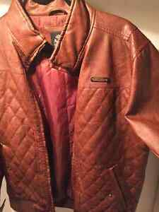 London Laundry Leather Jacket Size M, Worn 5 times
