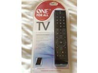 One for all TV remote