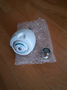 Shower head and aerator brand new
