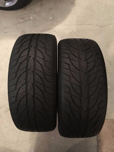 TWO GENERAL TIRE G-MAX AS-03 225/45/ZR 17 - 91W