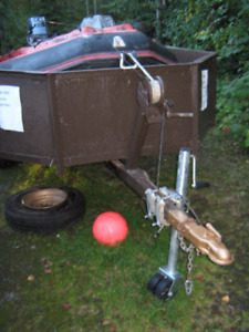 Achilles/trailer and motor