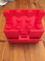 Boîte de rangement pour minifigurines Lego Carrying case