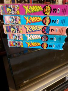 Rare X-Men vhs
