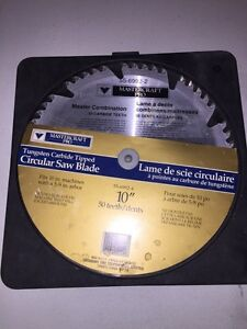 "Brand New 10"" tungsten Carbide Tipped circular saw blade!"