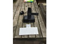 iPad keypad & sound system