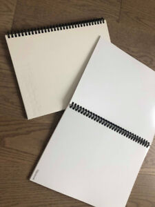Dry Erase Wipebook, Reusable whiteboard notebook