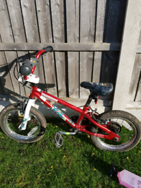 Boys' Mongoose bike